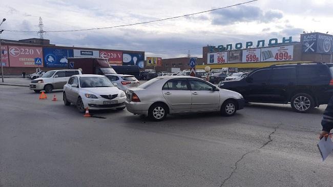 Трехлетний ребенок пострадал в аварии на улице Толмачевской