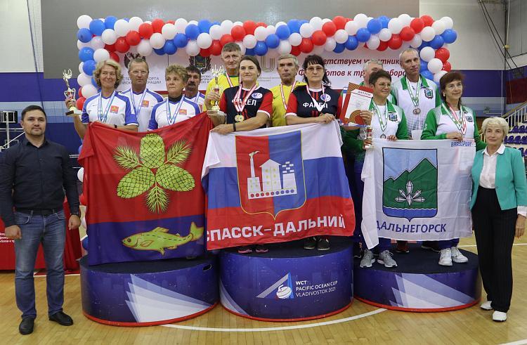 В Приморье состоялся фестиваль ГТО среди пенсионеров