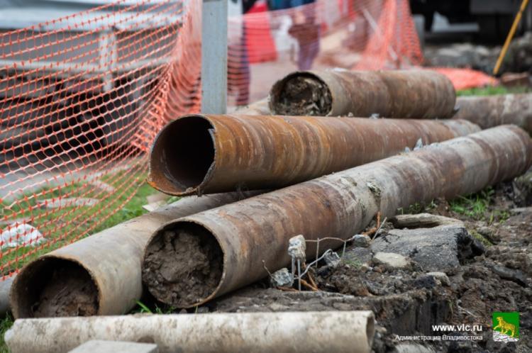 АО «ДГК» ремонтирует изношенные сети теплоснабжения