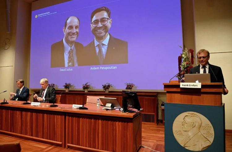 Нобелевскую премию по медицине присудили за открытие рецепторов температуры